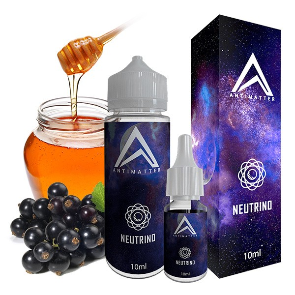 Neutrino - Antimatter - 10ml Aroma in 120ml Leerflasche