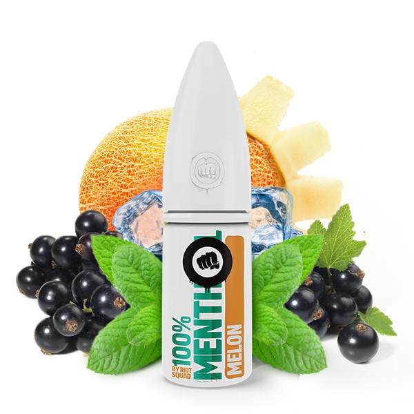 Menthol Melon - Riot Salt 100% Menthol - Hybrid Nic Salt - 10ml