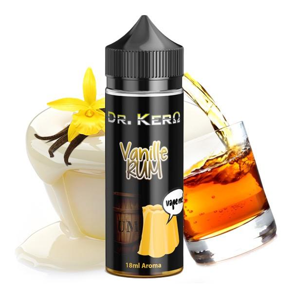 Vanille Rum - Dr. Kero - 18ml Aroma in 120ml Flasche