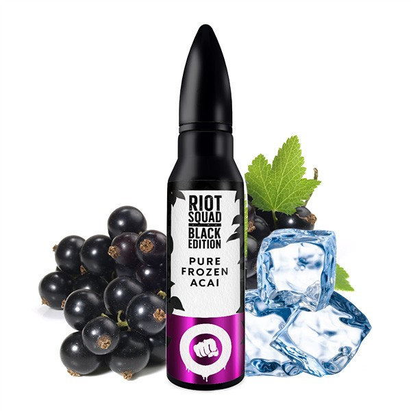 Pure Frozen Acai - Riot Squad - Black Edition - 15ml Aroma