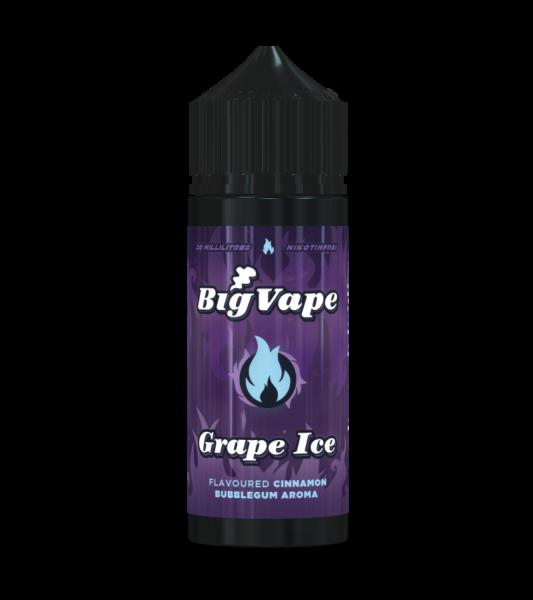 Grape Ice - Big Vape - 20ml Aroma in 120ml Flasche