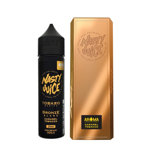 Bronze Blend - Nasty Juice - 20ml Aroma in 60ml Flasche