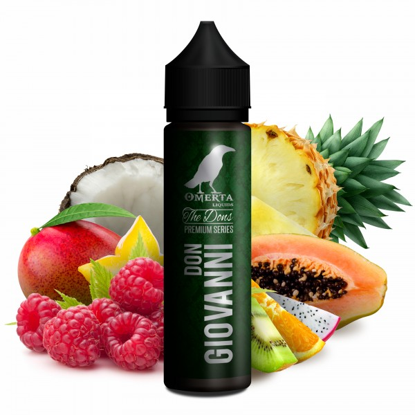 Don Giovanni - The Dons Serie - Omerta Liquids - 20ml Aroma in 60ml Flasche