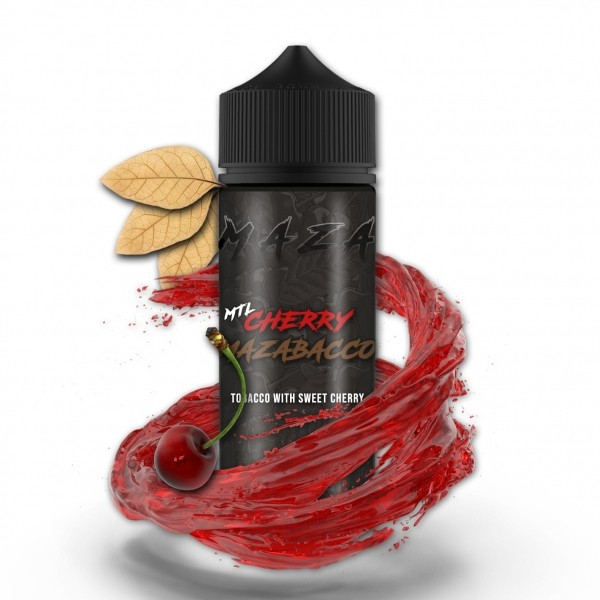 MTL Cherry Mazabacco - Maza - 20ml Aroma in 120ml Flasche