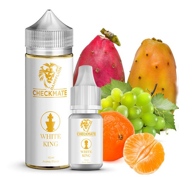 White King - Checkmate von Dampflion - 10ml Aroma in 120ml Leerflasche
