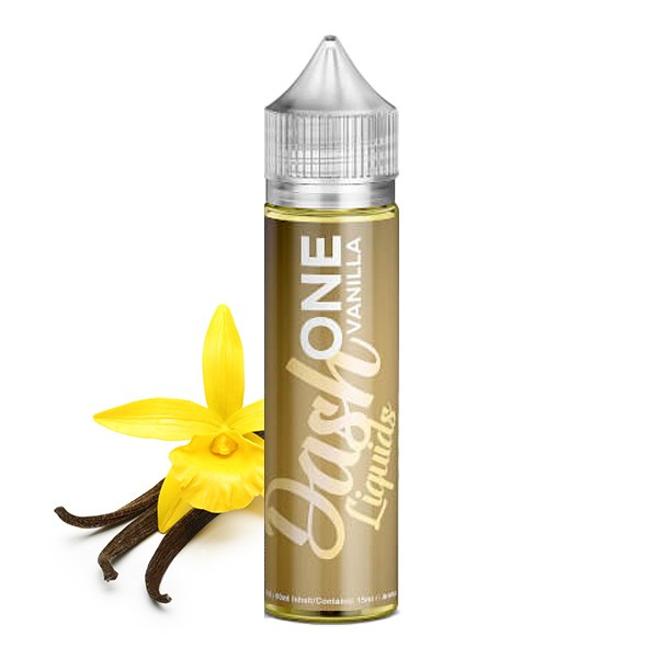 ONE Vanilla - Dash Liquids - 15ml Aroma in 60ml Flasche