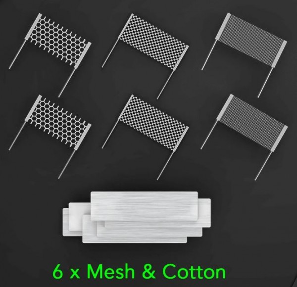 SMRT PnP Meshed Cotton Set Mix von Wotofo