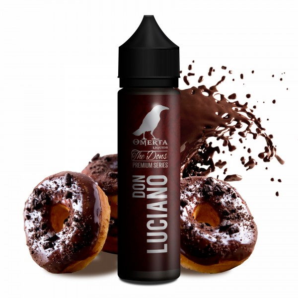 Don Luciano - The Dons Serie - Omerta Liquids - 20ml Aroma in 60ml Flasche