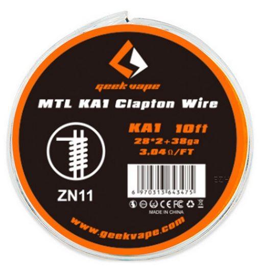 Geekvape Wickeldraht Kanthal A1 MTL Clapton auf Spule - 10ft