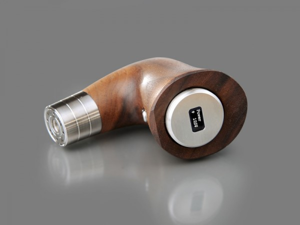 Yogs E-Pipe one by dicodes inkl. Ständer und Mundstück - nussbaum