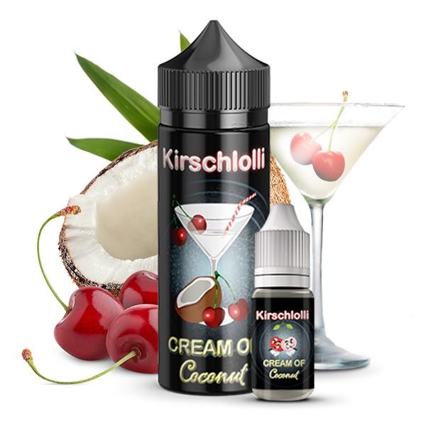 Kirschlolli Cream of Coconut - 10ml Aroma in 120ml Flasche